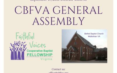 CBFVA General Assembly
