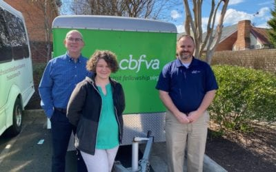 CBFVA Donates Missions Trailer